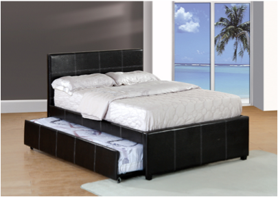 Cannes Upholstered Single Bed