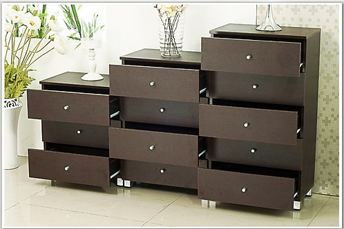 London Triplet Chest of Drawers Series