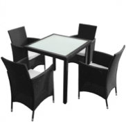 Sunset 5 piece dining table 4+1