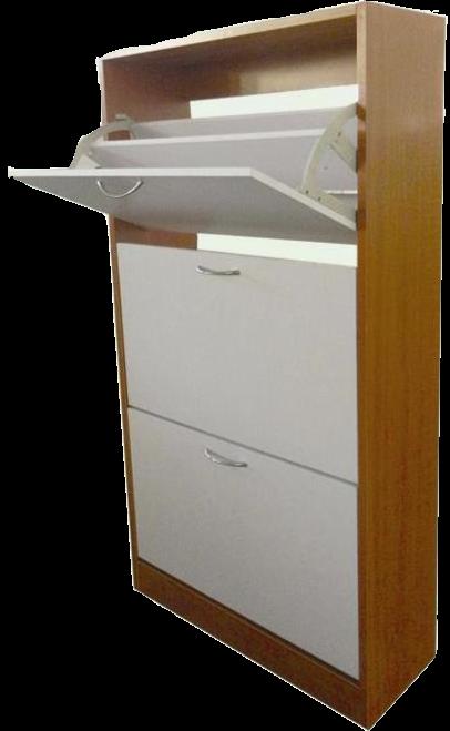 London Shoe Cabinet 3 tier