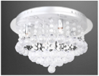 Texas Night Sky Ceiling Lamp Wide