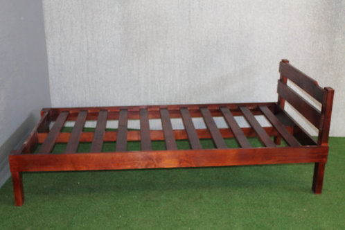 92cm Pine Bed with Head – Slatted from N$1,740.00