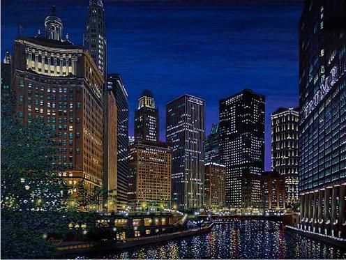 Soaring Metropolis on the River