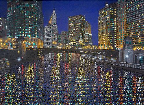 Chicago River Impression