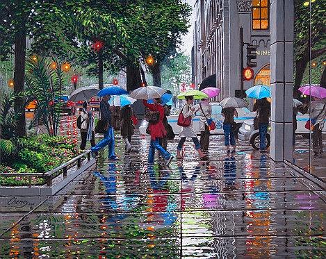 Dance of the Umbrellas