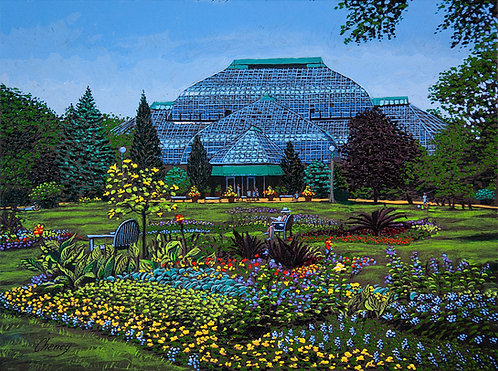 Summer Afternoon at the Conservatory