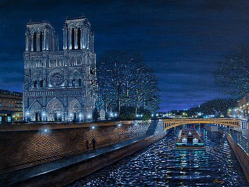 Seine River Impression