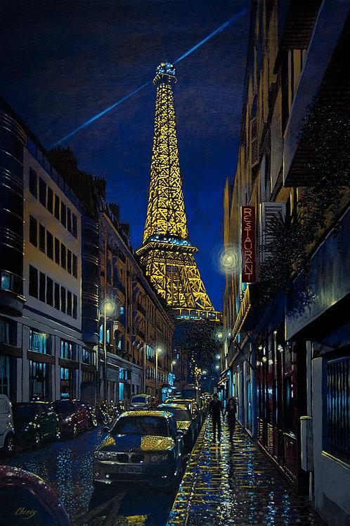 Evening on Rue de Monttessuy