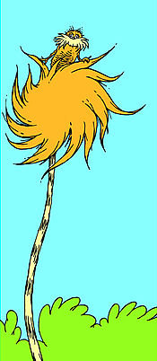 Earth Friendly Lorax (Orange)