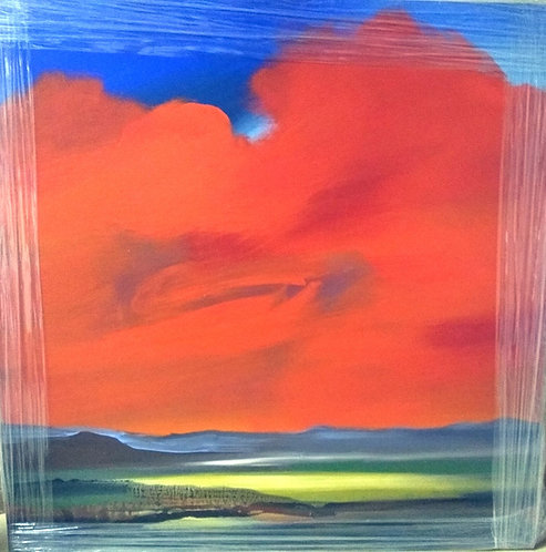 Fire Sky (30 x 30)