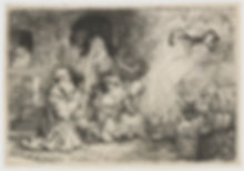 Rembrandt | The Angel Departing from the Family of Tobias