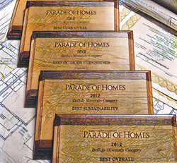 Parade of Homes Awards