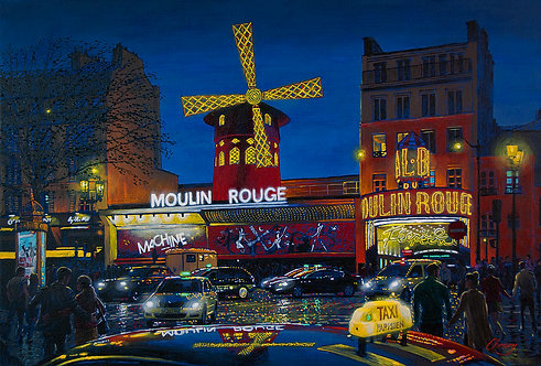 Evening at the Moulin Rouge