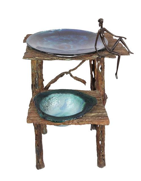 Medium 2-Bowl Sculpture