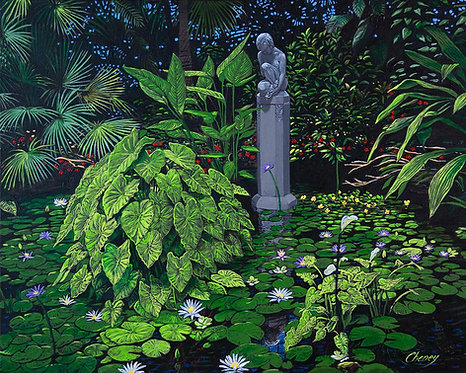 Pre-Raphaelite Reality upon Lincoln Park Conservatory