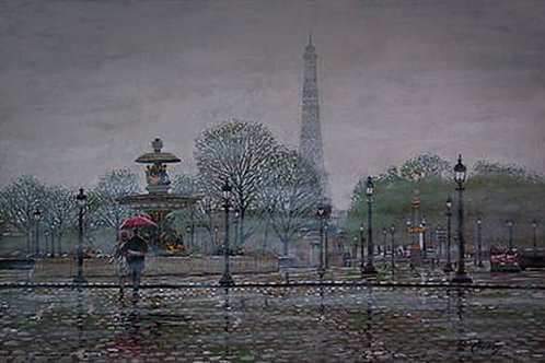 A Misty Day in Paris