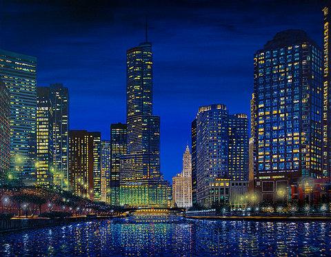 Modernist Metropolis Impression