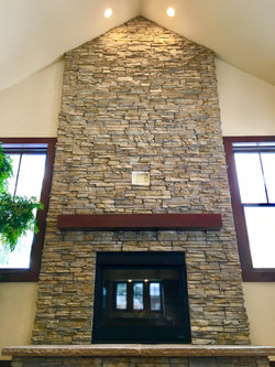 Epic Stone Fireplace Wall