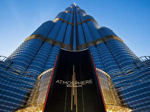 VANITOSI at Atmosphere Burj Khalifa - a night only for the bold
