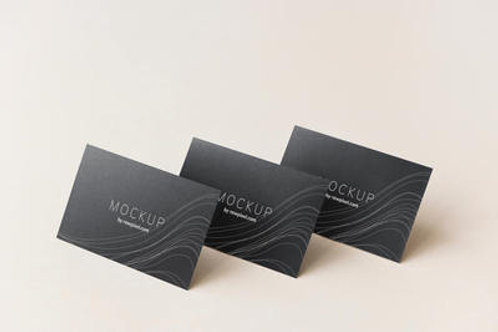 Front-Only Business Card