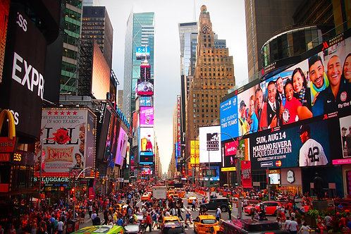Times Square Billboard (Facing West)