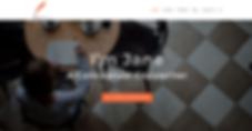 WordPress Design Firms Indianapolis - Copywriter Website Template