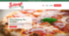 Web Design in Indianapolis - Orderable Pizza Website