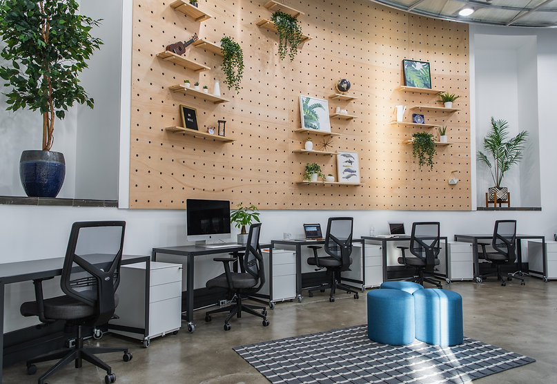 Fully-furnished private suite in coworking space. Flexible and Community Memberships.