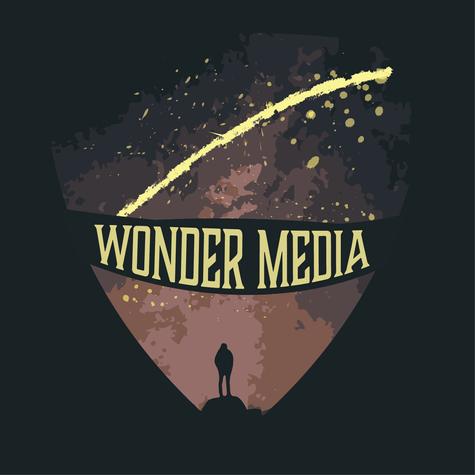 Wonder Media Logo — Starry Sky Fill