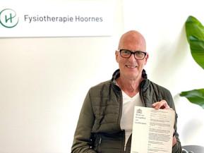40 jaar fysiotherapeut, een mijlpaal