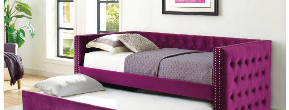 Purple Daybed With Trundle