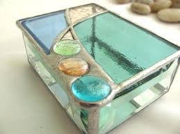 STAINED GLASS BOX - BEGINNER