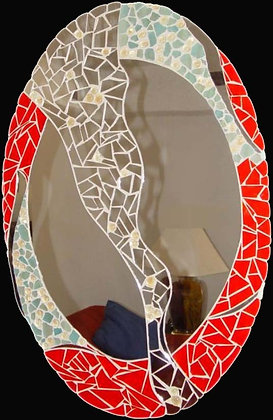 ROUND OR OVAL MIRROR 20x20 or 18x24 inches
