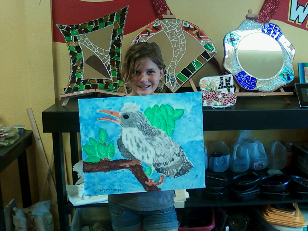 aspen and her mockinbird.jpg