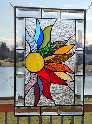 STAINED GLASS DECORATIVE PANEL - BEGINNER