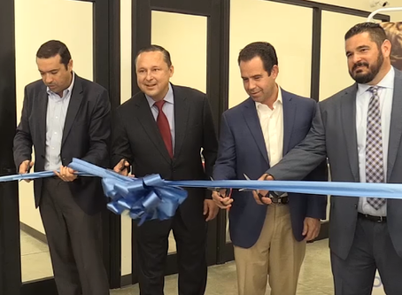 Ribbon cutting ceremony for our new Zventus operations center.
