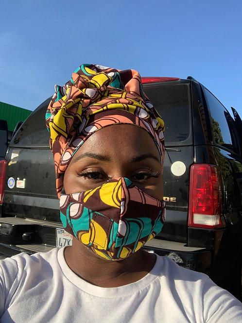 IYABO Bonnetwrap Set