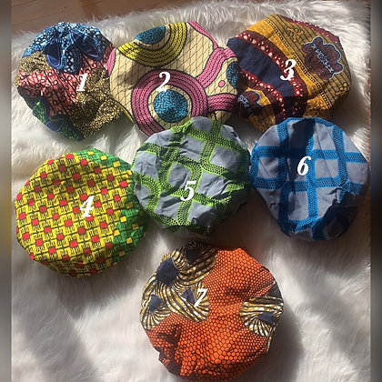 Small satin Bonnets
