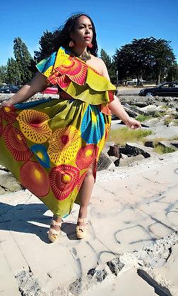 Ope skirt set