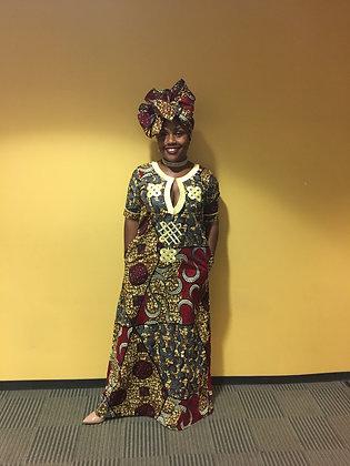 Ngozi maxi dress