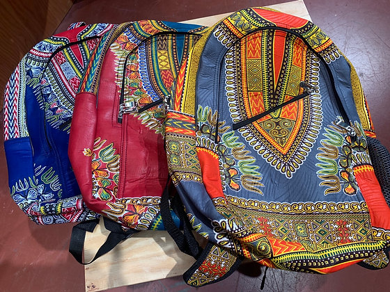 Dashiki backpacks
