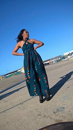 Tumi maxi multiway wrap dress