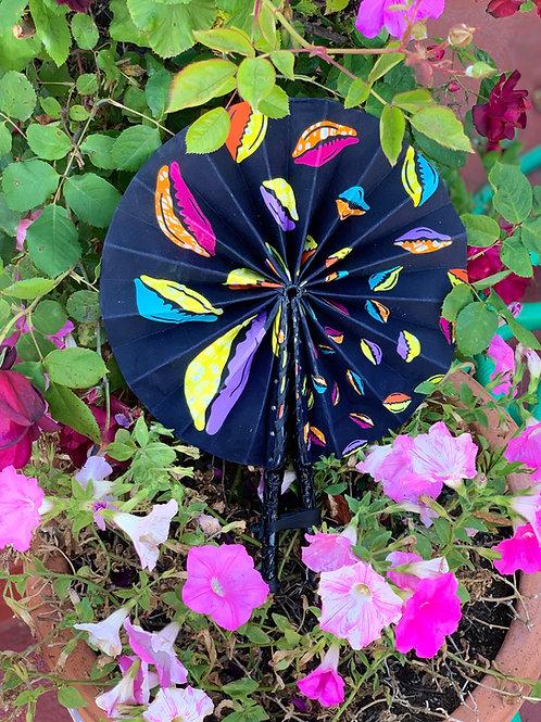 COWRIE SHELL  Foldable Fan