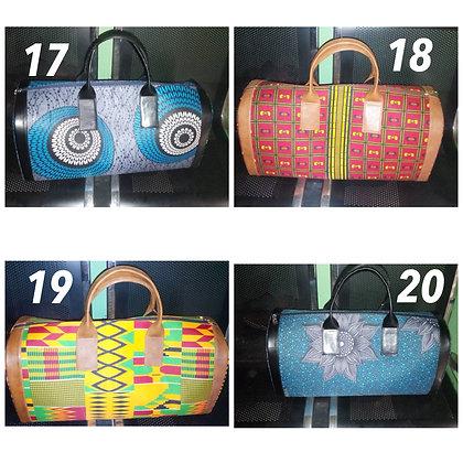 Yoruba travel bag