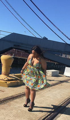 Simi short multiway wrap dress