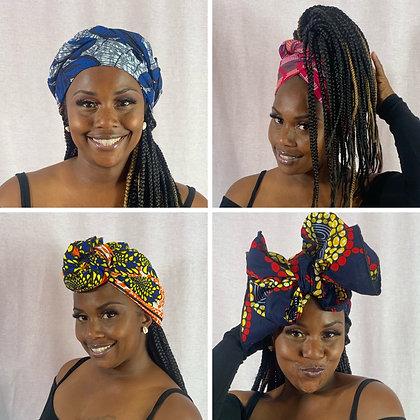 Royal headwrap
