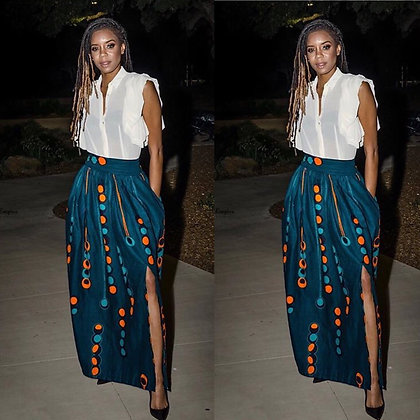 Sade maxi skirt