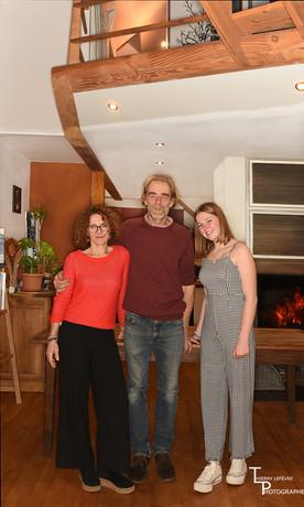 famille : K, steph,  Juliette