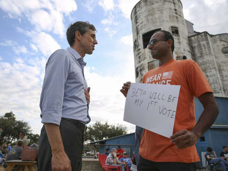 What does Beto O'Rourke's dropping out of the race mean for the topic of gun control?