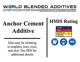 ancho cement additives